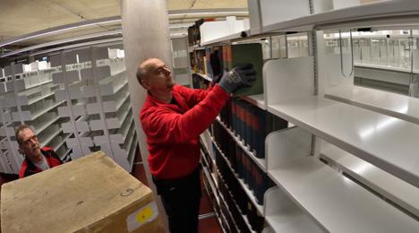 56 Regalkilometer Bücher
