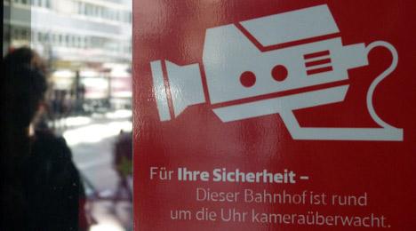 Marburgs Bahnhof is watching you