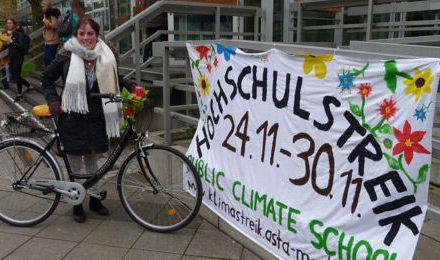 Studierende streiken fürs Klima