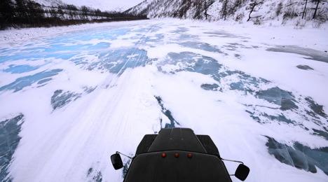 Sibirien eiskalt