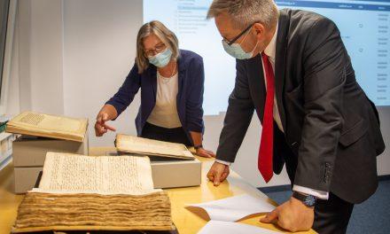 Marburger Geschichte aufbewahrt für die Ewigkeit