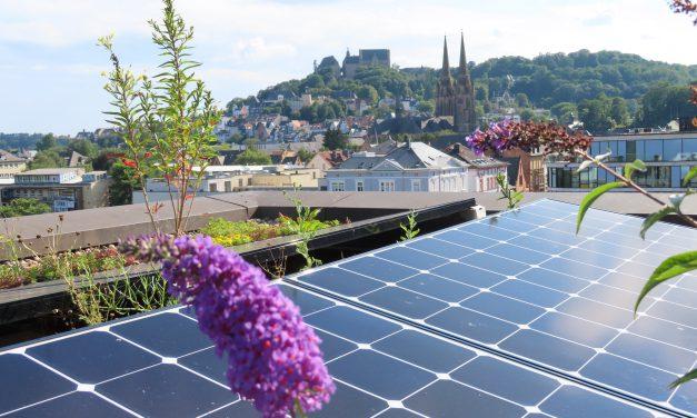 Mehr Solarstrom für Marburg