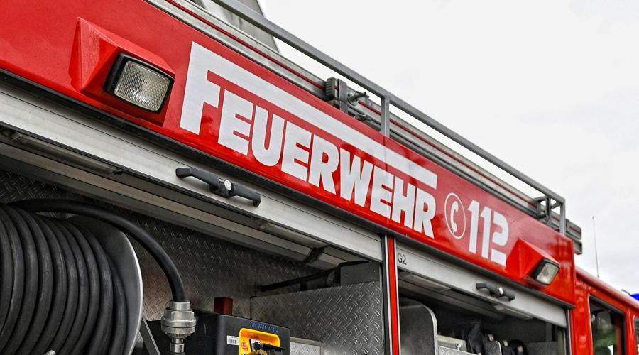 Großbrand in  Dautephetal