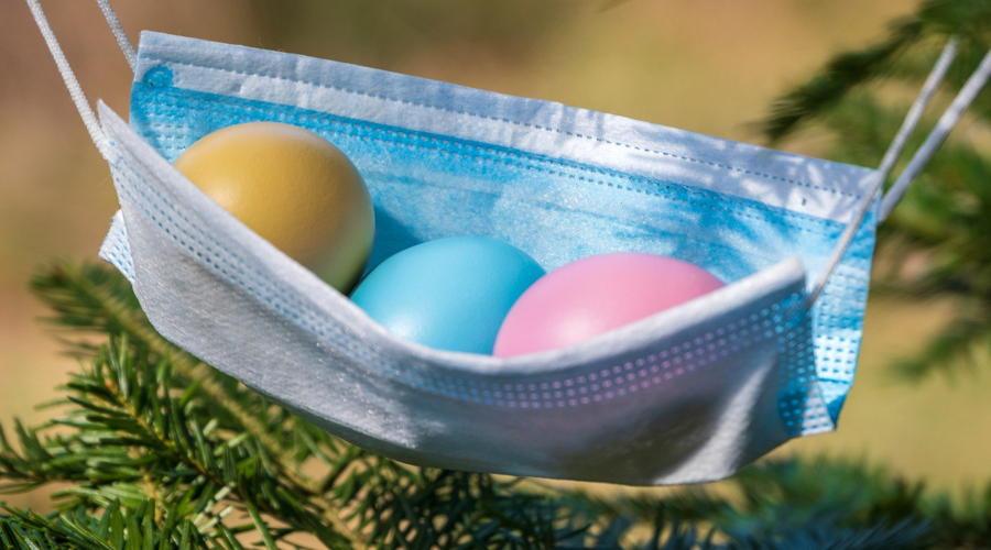 Lockdown über Ostern