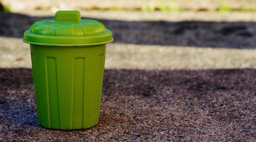 Müllabfuhr einen Tag später