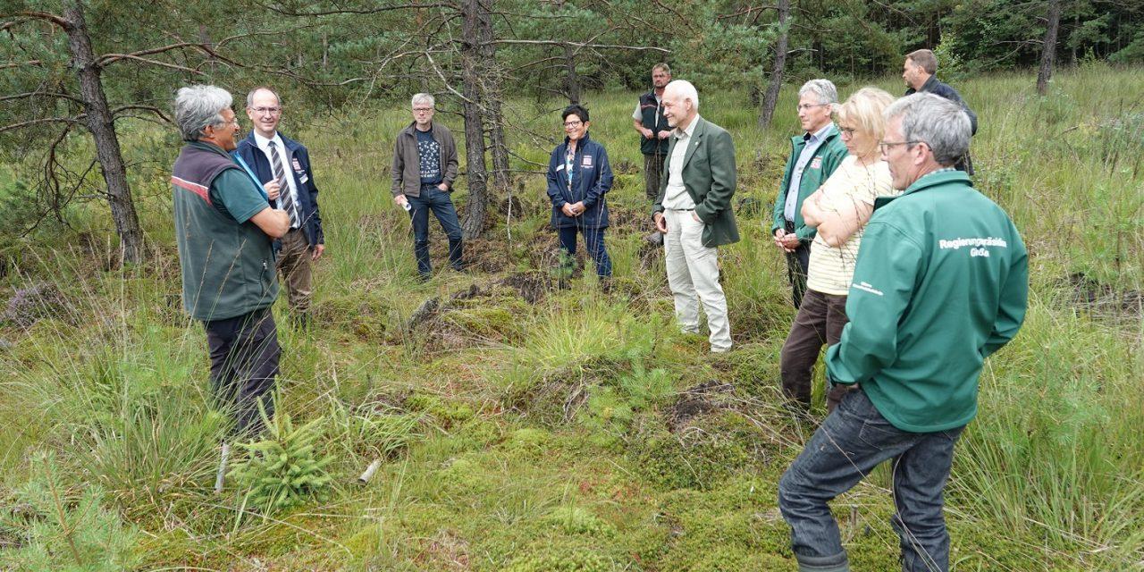 Sieben Naturschutzgebiete im Burgwald erweitert