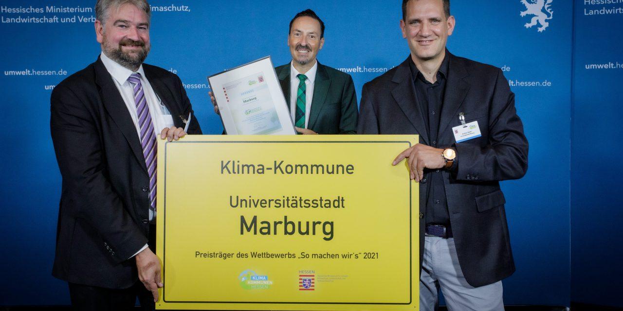 Marburger Solarprogramm ausgezeichnet